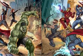 Como seriam os super-heróis se eles fossem desenhados como as heroínas?