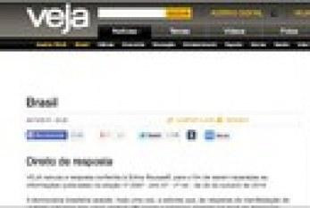 Veja publica direito de resposta da coligação de Dilma Rousseff