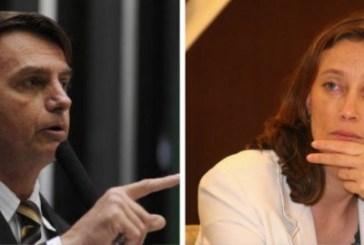 Bolsonaro repete que não estupra deputada porque ela 'não merece'