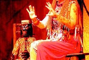 Peça sobre cultura africana direcionada para crianças no Centro