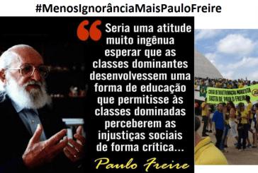 Carta Aberta do Grupo de Estudos e Pesquisas Paulo Freire