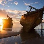 Encontrados restos de navio português do séc XVIII que transportava escravos