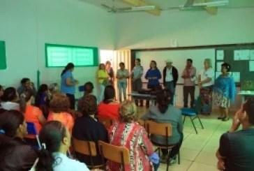 Mulheres do campo participam de oficinas contra violência doméstica