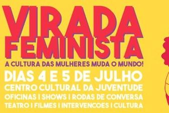 Primeira Virada Feminista começa neste fim de semana