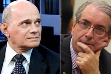 """Boechat para Cunha: """"Então esses US$ 5 milhões não são seus? Posso pegar esse dinheiro para mim?"""""""