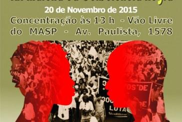 XII Marcha da Consciência Negra – Zumbi mais 20 (1995 – 2015)