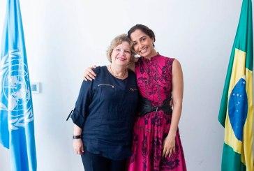 Camila Pitanga é eleita Embaixadora Nacional da Boa Vontade