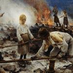 Os escravos loiros de olhos azuis da Europa