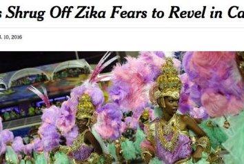 Reprovamos: New York Times destila preconceito sobre Brasil, zika e Carnaval
