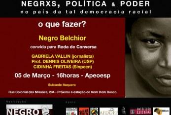 Evento discute os Desafios Políticos da População Negra no Brasil