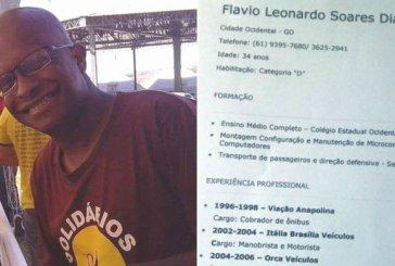 O motorista Flávio Leonardo entregou CV em semáforo e recebeu 40 propostas de emprego