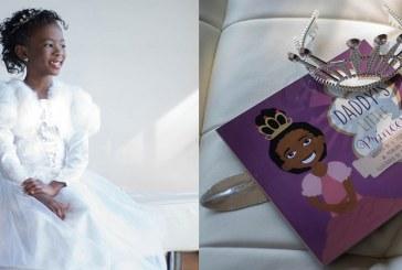 Menina de 7 sete anos escreve livro para mostrar que meninas negras podem SIM ser princesas