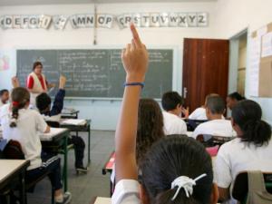 GS7J3696 - EMEF GARCIA D` AVILA - SÃO PAULO SP - 20/06/2007 - VIDA & EDUCAÇÃO - Cenas da Escola Municipal de Ensino Fundamental Garcia D`Avila, no bairro da Casa Verde, zona norte da capital paulista. Na foto, aula de História do primeiro ano do Ciclo 2. FOTO DIGITAL ED VIGGIANI/AE