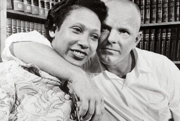 História de casal inter-racial de filme
