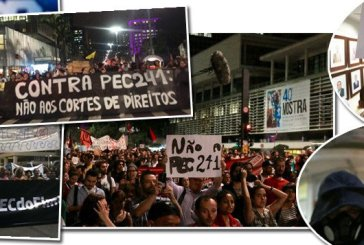 CUT/Vox Populi: 70% rejeitam PEC 241 no Brasil