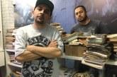 Tatuador e rapper montam biblioteca comunitária na Cachoeirinha