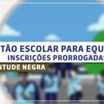 Edital Gestão Escolar para Equidade – Juventude Negra 2016 – Inscrições Prorrogadas