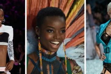 Pela 1ª vez, três modelos crespas brilharam com seus crespos no desfile da 'Victoria's Secret'