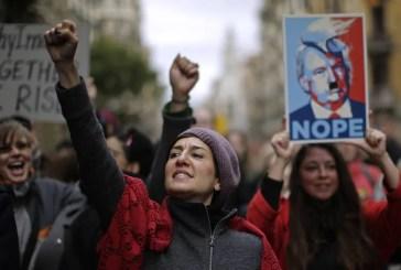 Para onde marcham as mulheres contra Trump?