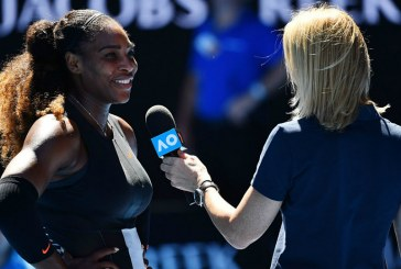 Serena Williams exige desculpas de jornalista e mita até na entrevista coletiva