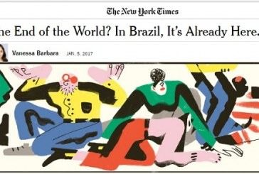 """Deu no NY Times: """"Fim do mundo? Já é aqui no Brasil"""""""