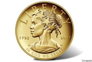 Pela 1ª vez, uma mulher negra estampa moeda comemorativa dos EUA