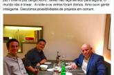 Karnal apaga post de jantar com Sergio Moro