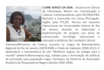 No Orun: Movimento perde Eliane Borges da Silva