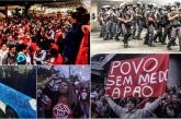 Veja alguns flagrantes, fotos e vídeos da greve geral