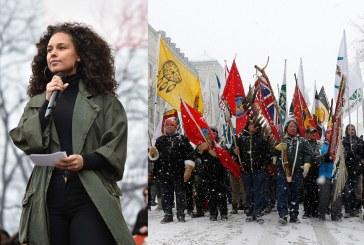Alicia Keys e o movimento pelos direitos dos povos indígenas do Canadá recebem o prêmio máximo da Anistia Internacional