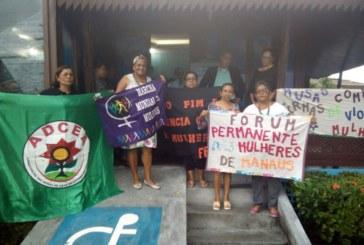 Mulheres amazonenses realizam ato após 15º feminicídio este ano