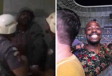 Corrente do bem faz homem vitima de racismo no show do Coldplay assistir a banda em POA