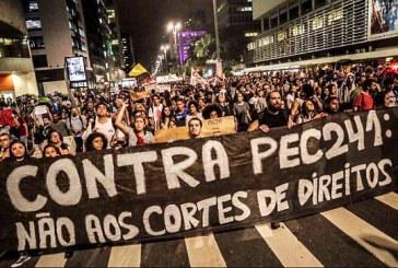 Organizações lançam campanha pela revogação da PEC do fim do mundo