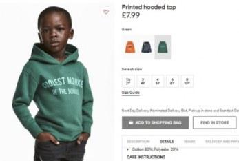 H&M cria cargo diretivo para diversidade após caso de racismo