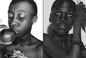 Fotos em preto e branco?  Não. Incríveis desenhos de uma jovem artista nigeriana