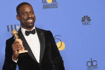 Ator Sterling K. Brown, é o 1º negro a ganhar Globo de Ouro em série dramática