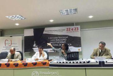 Segundo dia de jornada contra o racismo institucional inicia com falas de lideranças da sociedade civil
