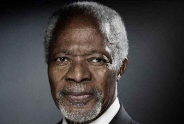 Kofi Annan, o eterno líder das Nações Unidas