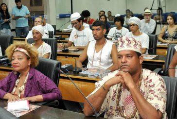 Câmara discute vandalismo contra estátua de Iemanjá e intolerância