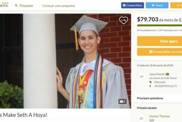 Rejeitado POR SER GAY, AMERICANO arrecada 50 mil dólares para realizar o sonho de entrar na universidade