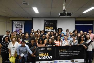 Gestores públicos, ONU e sociedade civil discutem em Recife violência contra juventude negra