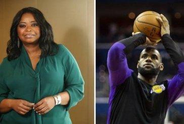Octavia Spencer diz que LeBron James lhe ajudou a ter salário equivalente ao de homens em uma nova série