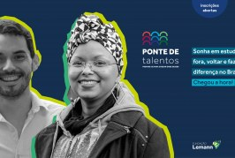 Fundação Lemann: Programa apoiará pessoas de baixa renda, negros e indígenas que sonham em estudar fora e voltar para melhorar o Brasil