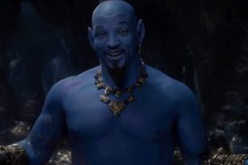 Primeiro trailer de Aladdin mostra Will Smith azul no papel do Gênio