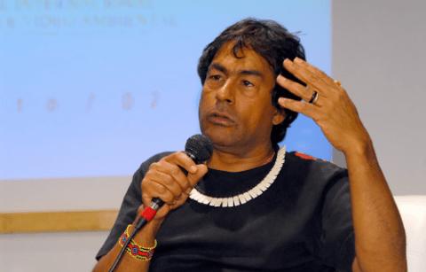 Ailton Krenak, líder indígena e ambientalista