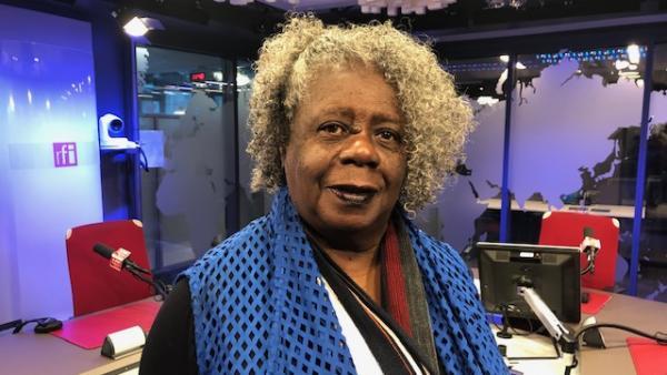 A escritora Conceição Evaristo. RFI