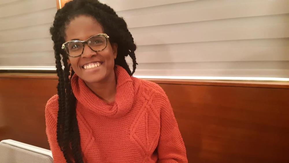 A filósofa e ativista brasileira Djamila Ribeiro participou do programa da chancelaria francesa Personalidades do Amanhã.