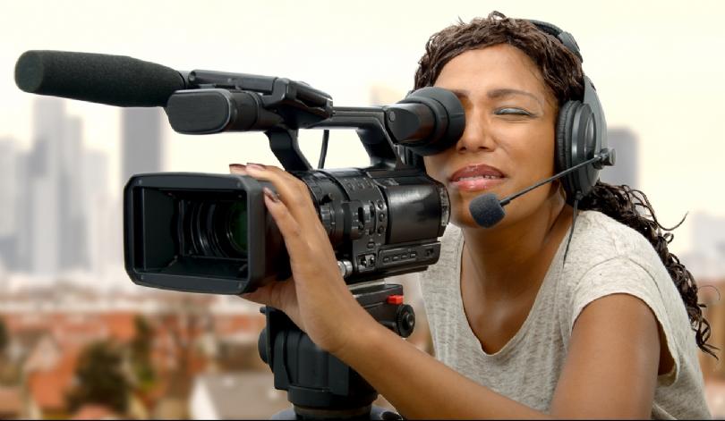 mulher com video