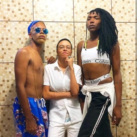 Fotos dos cantores Majur, Maria Gadú e rapper Hiran