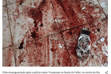 Comissão Arns exige investigação de mortes no morro do Fallet, no Rio